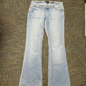 Aeropostale destroyed denim jeans 3/4
